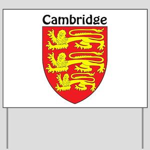 Cambridge Yard Sign
