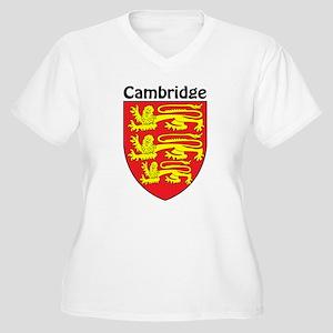 Cambridge Women's Plus Size V-Neck T-Shirt