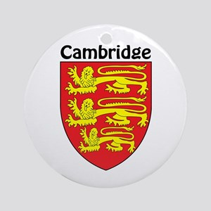 Cambridge Ornament (Round)