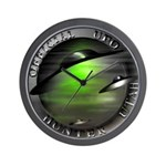 Official UFO Hunter Wall Clock