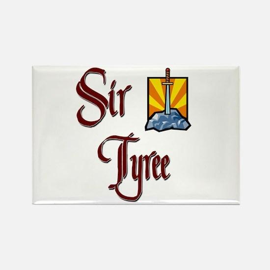 Sir Tyree Rectangle Magnet