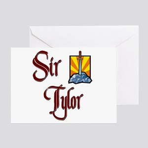 Sir Tylor Greeting Card