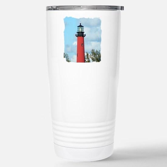 Jupiter Lighthouse Stainless Steel Travel Mug
