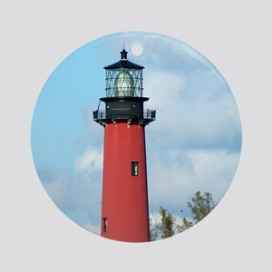 Jupiter Lighthouse Ornament (Round)