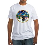 XmasMusic 3/Scottie #12 Fitted T-Shirt