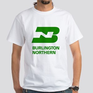 Burlington Northern White T-Shirt