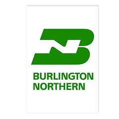 Burlington Northern Postcards (8 pack)