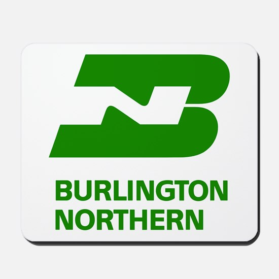Burlington Northern Mousepad