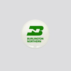Burlington Northern Mini Button
