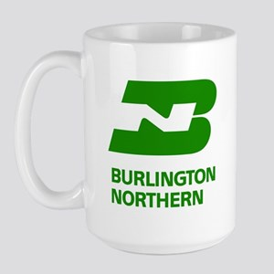 Burlington Northern Large Mug