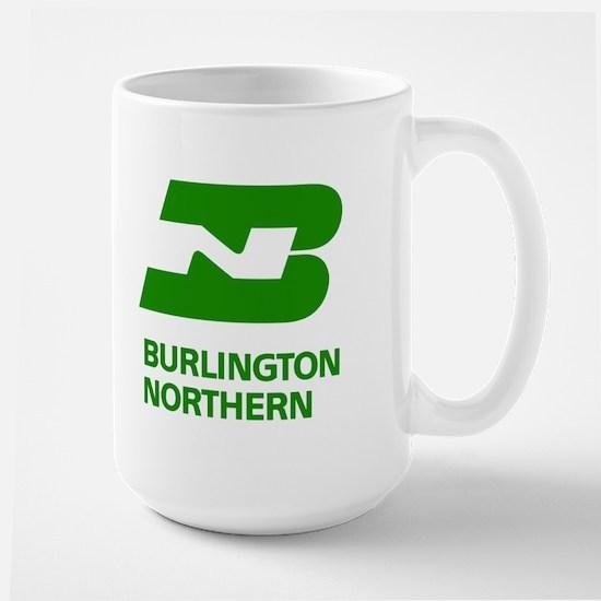 Burlington Northern Large Mug
