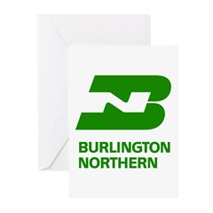 Burlington Northern Greeting Cards (20 pack)