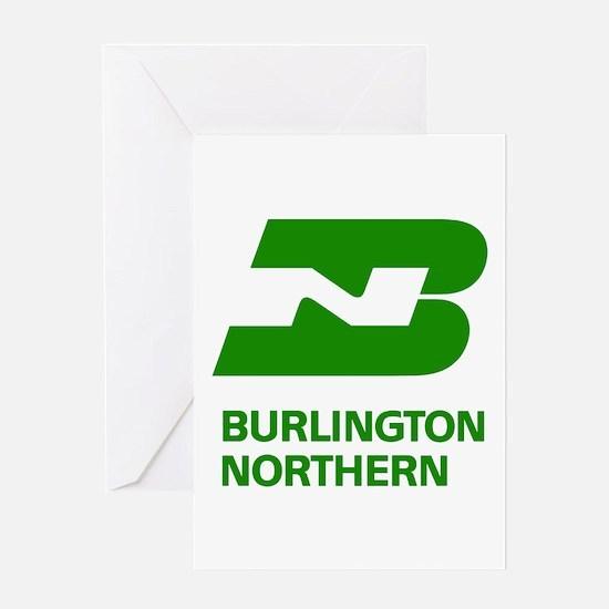 Burlington Northern Greeting Card
