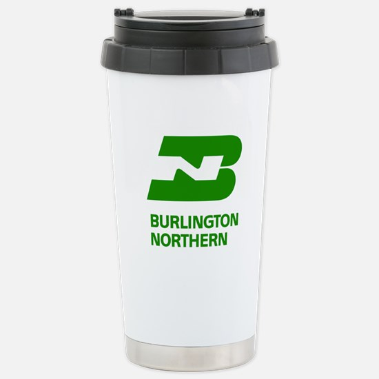 Burlington Northern Stainless Steel Travel Mug