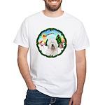 Old English Sheepdog White T-Shirt