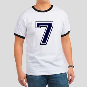 NUMBER 7 FRONT Ringer T