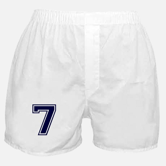 NUMBER 7 FRONT Boxer Shorts