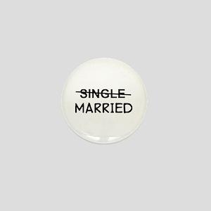 Single Married Mini Button