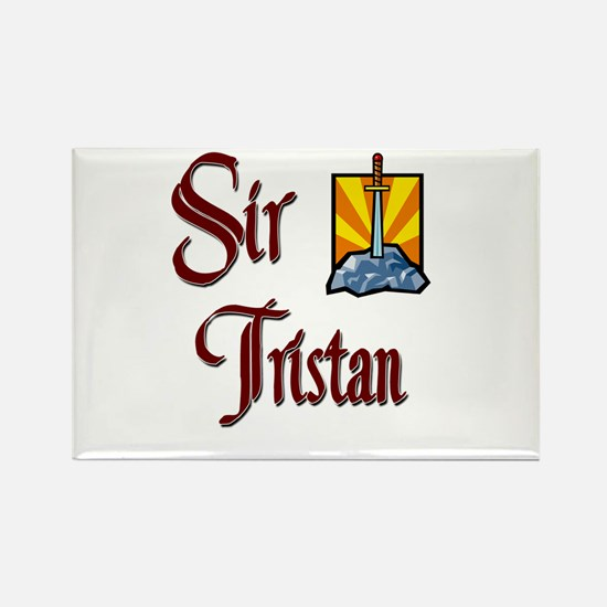 Sir Tristan Rectangle Magnet (10 pack)