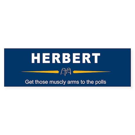 Herbert Bumper Sticker