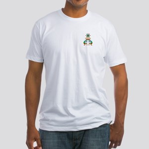 Two Kokopelli #1 Fitted T-Shirt