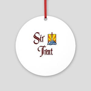 Sir Trent Ornament (Round)