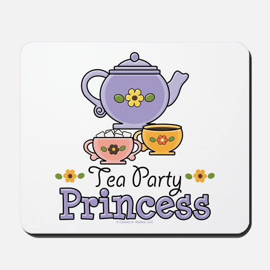 Tea Party Princess Mousepad