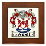 O'Neill Coat of Arms Framed Tile