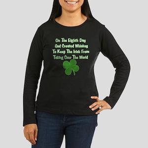 Irish Whiskey Women's Long Sleeve Dark T-Shirt