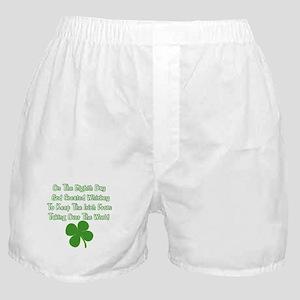 Irish Whiskey Boxer Shorts