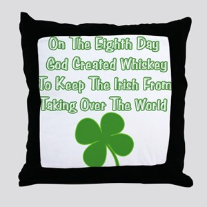 Irish Whiskey Throw Pillow