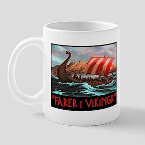 FARER I VIKINGR Mug