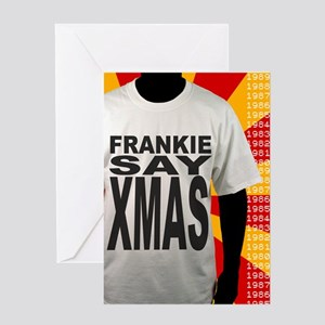 Frankie Say Xmas Christmas Greeting Card