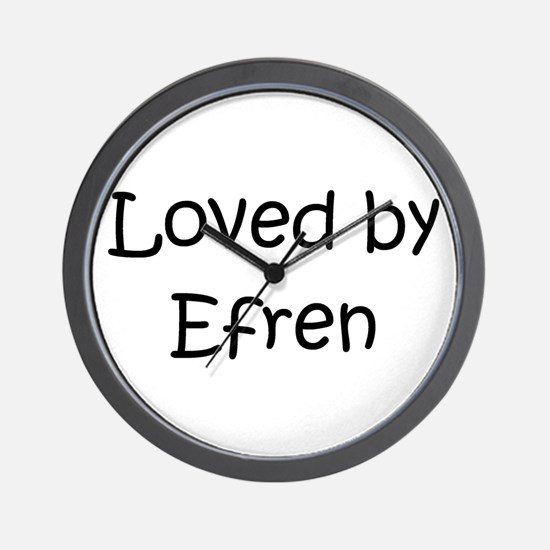 Cute Efren Wall Clock