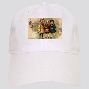 Ice Skate Christmas Cap