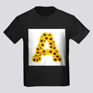 Sunflower Letter A T-Shirt