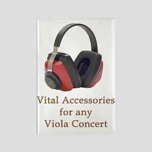 Viola Concert Accessories Rectangle Magnet
