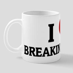 I Love Breaking News Mug
