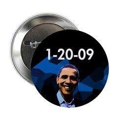 """1-20-09 Obama 2.25"""" Button (100 pack)"""