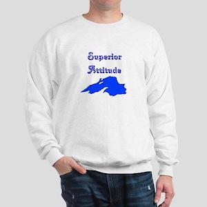 superior attitude Sweatshirt