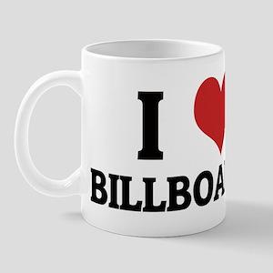 I Love Billboards Mug