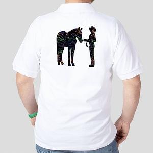 Halter/Showmanship Floral Golf Shirt
