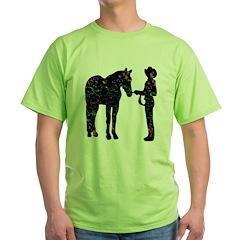 Halter/Showmanship Floral T-Shirt