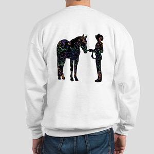 Halter/Showmanship Floral Sweatshirt