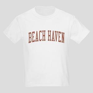 Beach Haven New Jersey NJ Red Kids Light T-Shirt