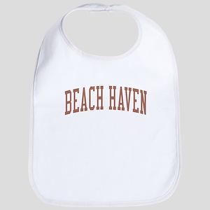 Beach Haven New Jersey NJ Red Bib