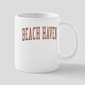 Beach Haven New Jersey NJ Red Mug