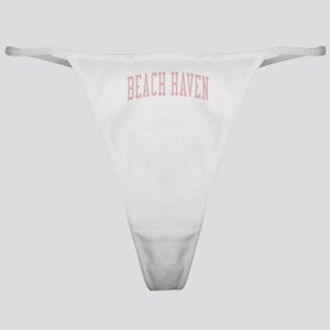 Beach Haven New Jersey NJ Pink Classic Thong
