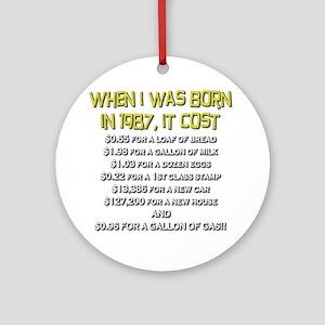 Price Check 1987 Ornament (Round)