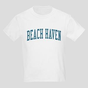 Beach Haven New Jersey NJ Blue Kids Light T-Shirt